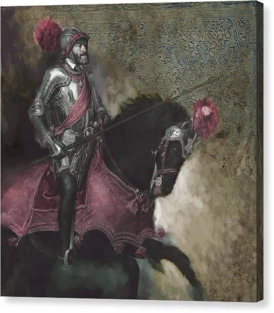 Salsa Canvas Print - Tcm Spanish 161 3  by Mawra Tahreem