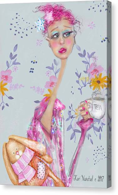 Tea For Me Canvas Print