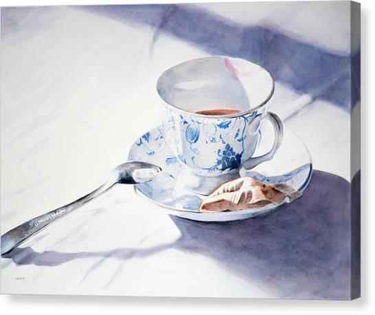 Tea For One Canvas Print