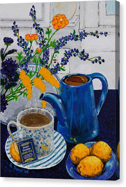 Canvas Print - Tea For Thee by Rich Travis