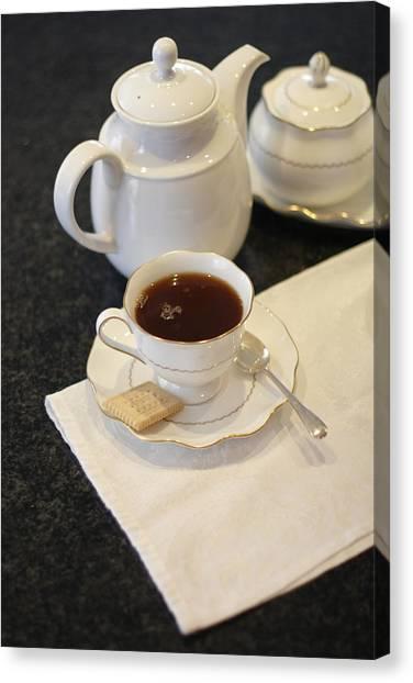 Tea Service Canvas Print by Mark Platt