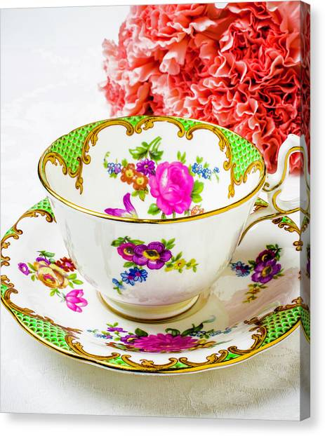 Tea Time Canvas Print - Tea Time by Garry Gay