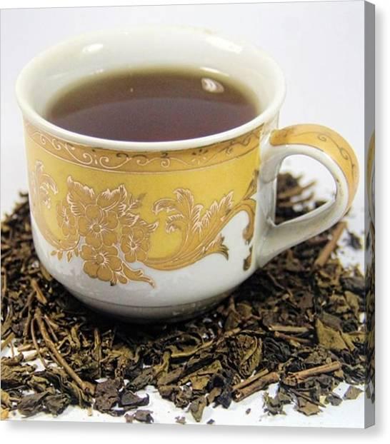 Tea Time Canvas Print - Tea Time #mobilephotography #tea by Nurcholis Anhari Lubis