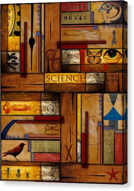 Student Canvas Print - Teacher - Science by Carol Leigh
