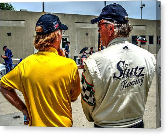 Team Stutz Canvas Print