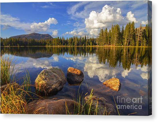 Teapot Lake Canvas Print