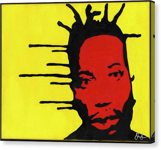 Wu Tang Canvas Print - Tears For Odb by Shaun Lee