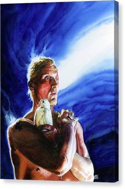 Bladerunner Canvas Print - Tears In The Rain by Ken Meyer