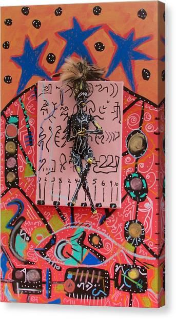 Teasel Herbal Tincture Canvas Print