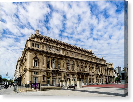 Teatro Colon Canvas Print