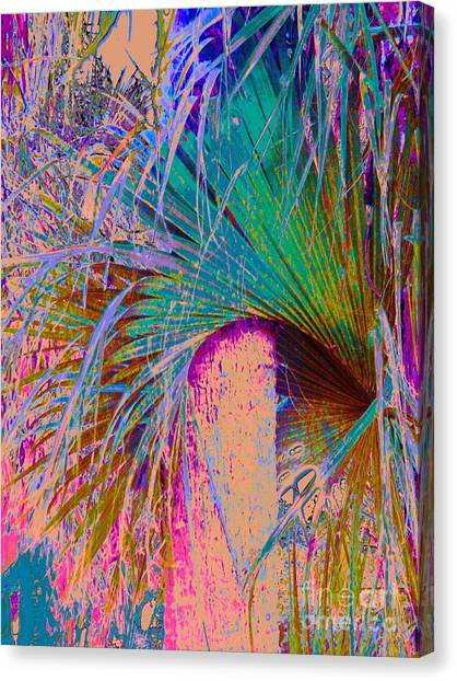 Techni Frond Canvas Print