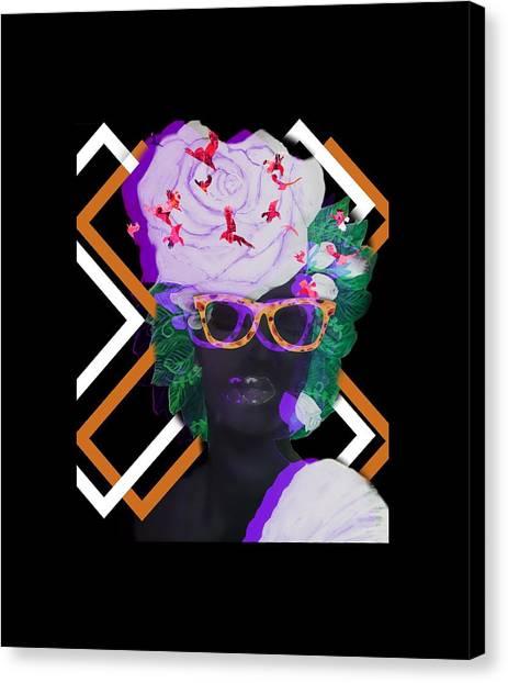 Canvas Print - Techno Mieya by Quea Reshawn