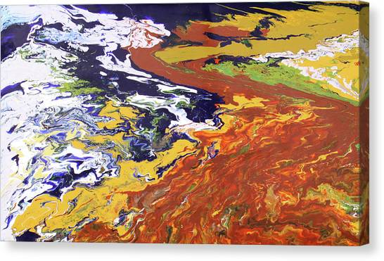 Tectonic Canvas Print