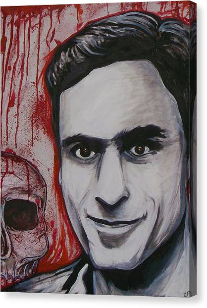 Ted Bundy Canvas Print - Ted by Sam Hane