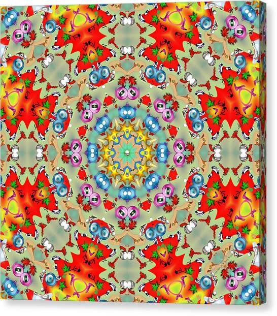 Teddy Bear Tears 420k8 Canvas Print by Brian Gryphon