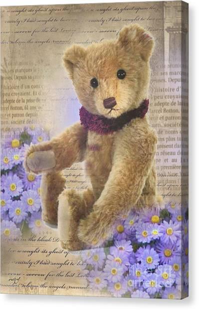 Teddy Bear Time Canvas Print