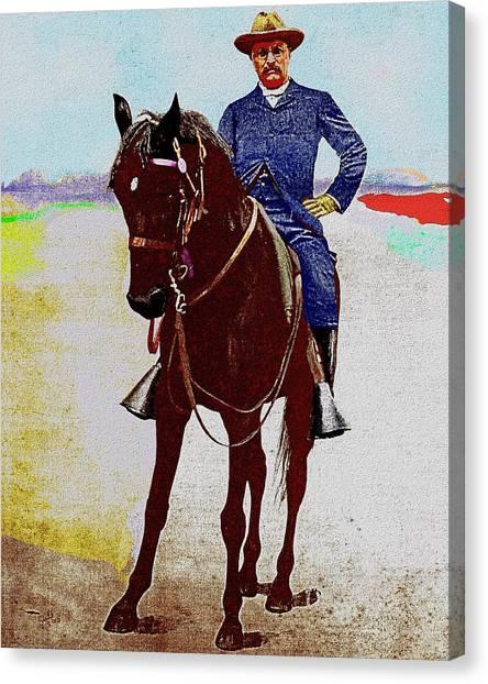 Teddy R Canvas Print