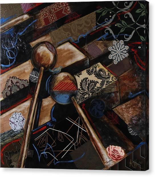 Tee The Marimba Canvas Print