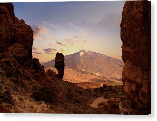 Canaries Canvas Print - Teide - Tenerife by Cambion Art