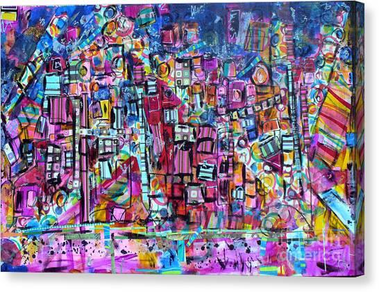 Tel Aviv Canvas Print