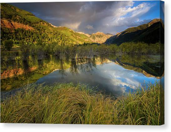Telluride Valley Floor Canvas Print