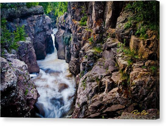 Temperance River Gorge Canvas Print