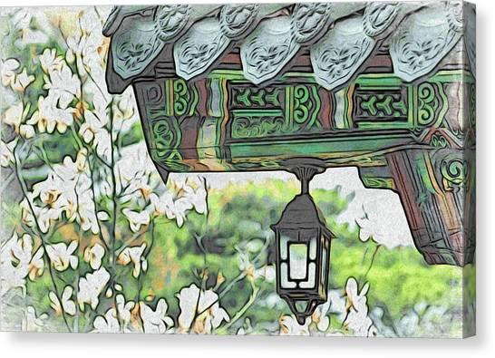 Temple Light Canvas Print