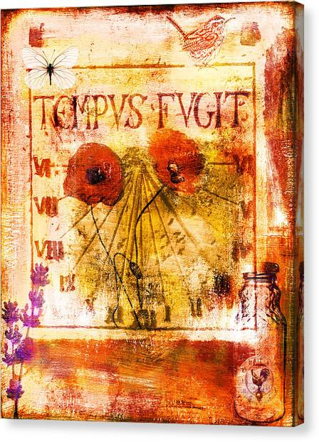 Tempus Fugit Canvas Print by Jude Reid