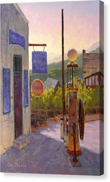Arizona Canvas Print - Ten Cents A Gallon by Cody DeLong