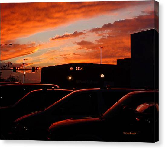 Ten Fourteen P.m. Canvas Print