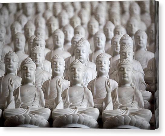 Ten Thousand Buddhas Canvas Print by Patricia Bolgosano