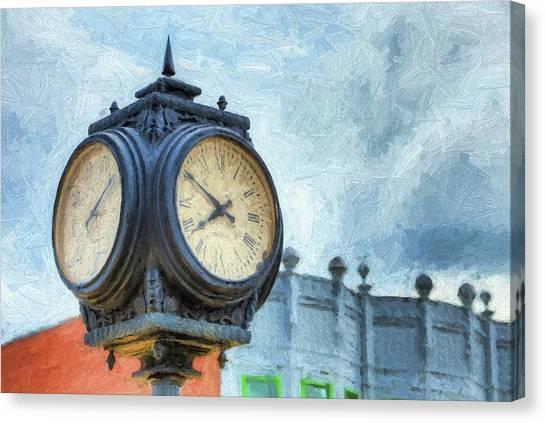 Ten Till Eight Canvas Print by JC Findley
