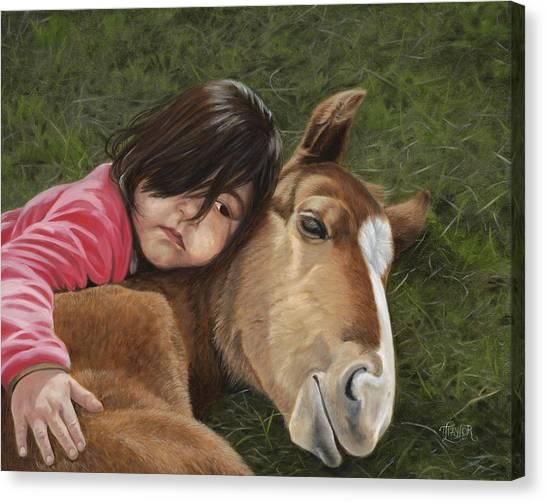 Tender Love Canvas Print