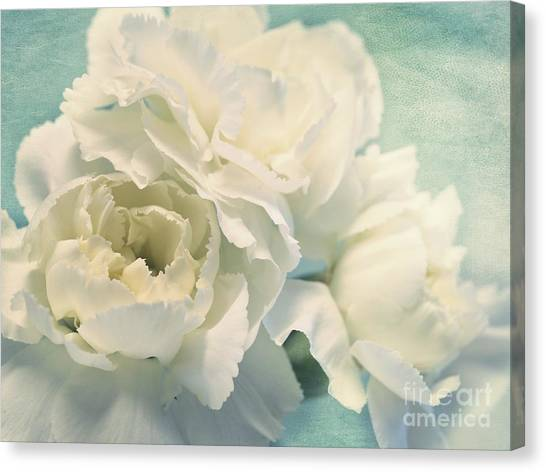 Flower Canvas Print - Tenderly by Priska Wettstein