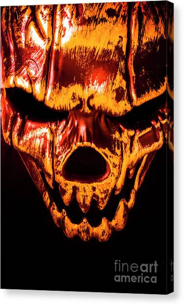 Anatomical Canvas Print - Tendon Terror by Jorgo Photography - Wall Art Gallery