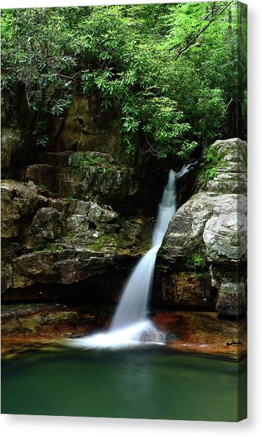 Tennessee's Blue Hole Falls Canvas Print
