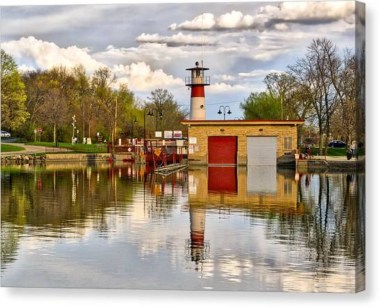 Tenney Lock - Madison - Wisconsin Canvas Print