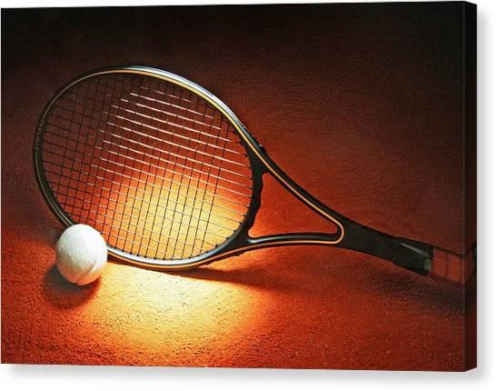 Tennis Racket Canvas Print