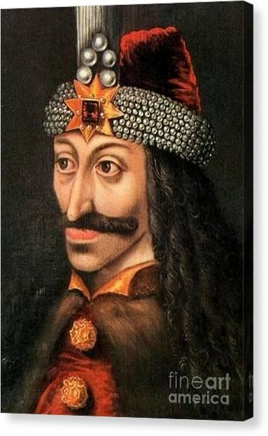 Tepes Vs Dracula Canvas Print