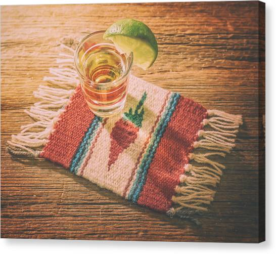 Limes Canvas Print - Tequila For Cinco De Mayo by Scott Norris