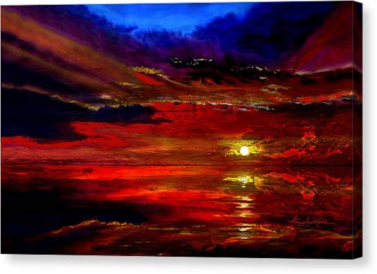 Tequila Sunrise Canvas Print - Tequila Sunrise by Hanne Lore Koehler