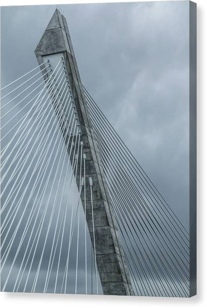 Terenez Bridge IIi Canvas Print