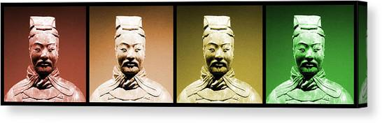 Terracotta Warrior Army Of Qin Shi Huang Di - Royg Canvas Print