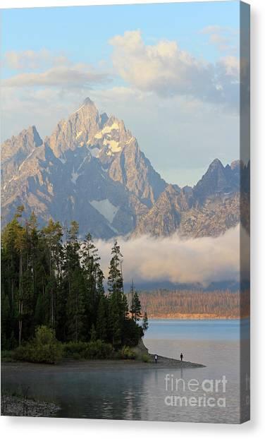 Teton Early Morning Canvas Print