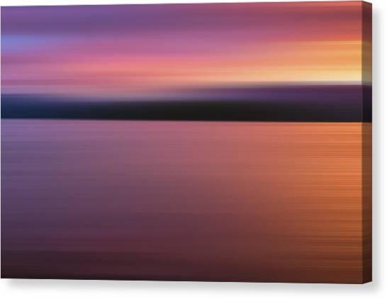 Lavendar Canvas Print - Teton Firesky X by Jon Glaser
