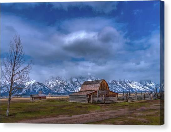 Teton National Park Mormon Row Canvas Print