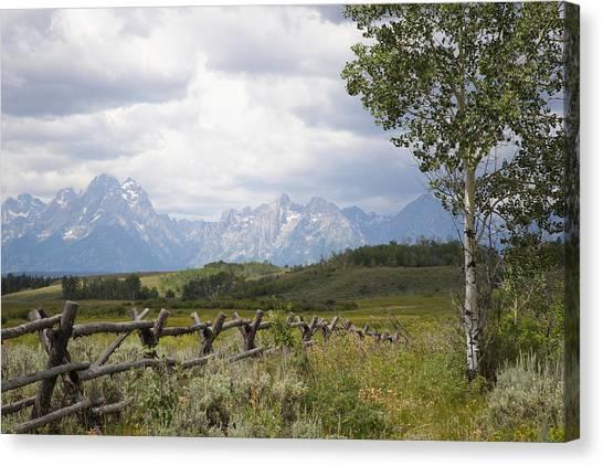 Teton Ranch Canvas Print