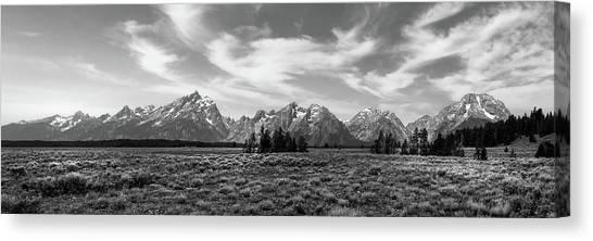 Teton Range Canvas Print