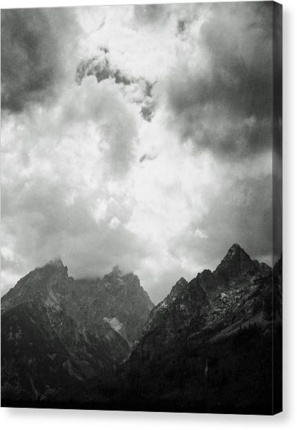Teton Sky Canvas Print