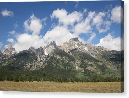 Teton View Canvas Print